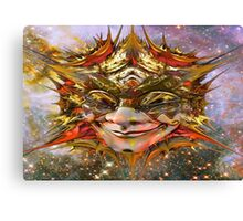 Star Clown Canvas Print
