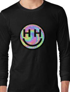 Happy Hippie Foundation Logo [Tie-Dye] Long Sleeve T-Shirt