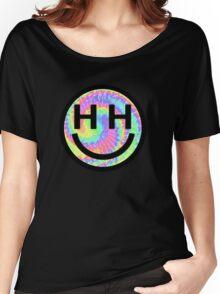 Happy Hippie Foundation Logo [Tie-Dye] Women's Relaxed Fit T-Shirt
