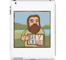 Saint Matthew Says Hi iPad Case/Skin