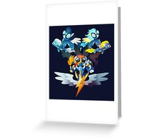 The Wonderbolts Greeting Card