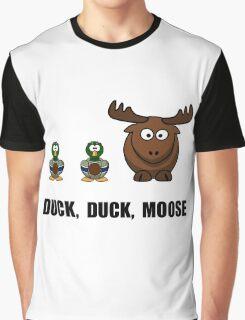 Duck Duck Moose Graphic T-Shirt
