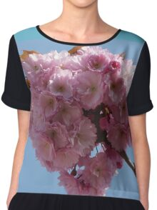 Pink Blossoms Chiffon Top