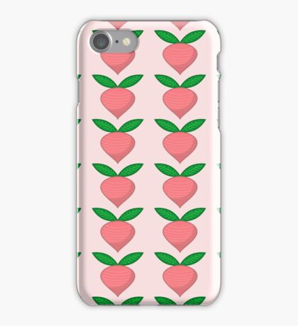 Radish pattern iPhone Case/Skin