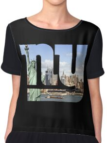 New York City Chiffon Top