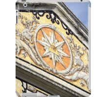 A fabulous frontage in Lisbon, Portugal iPad Case/Skin