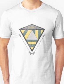 Geometric Distortion Unisex T-Shirt