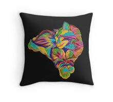 Psychedelic Max Throw Pillow