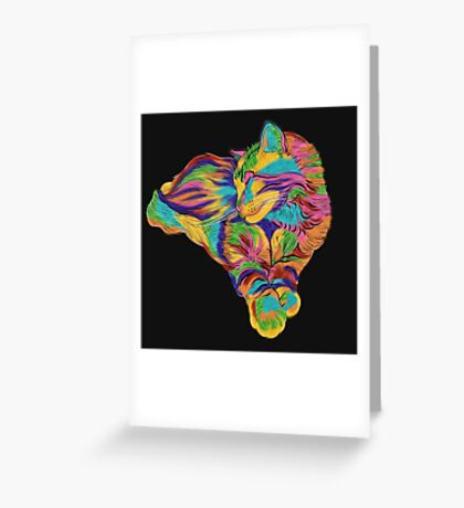 Psychedelic Max Greeting Card