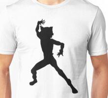Chat Noir Shilouette - Black Unisex T-Shirt