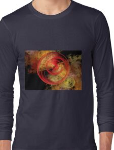 Fractal Roses Long Sleeve T-Shirt