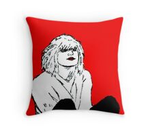COURTNEY LOVE!!! Throw Pillow