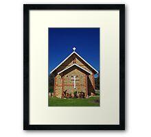 Parish Church, Jarrahdale Framed Print
