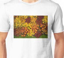 Bunches of Yellow, Copper, Orange, Red, Maroon - Fabulous Autumn Abundance Unisex T-Shirt
