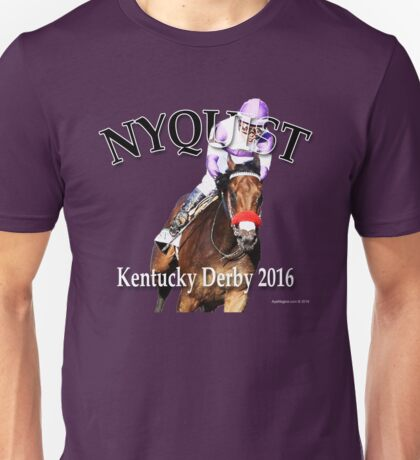 Nyquist Kentucky Derby Winner Unisex T-Shirt