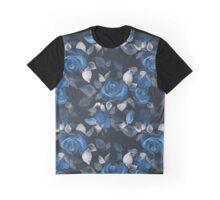 Crazy roses. Blue Graphic T-Shirt