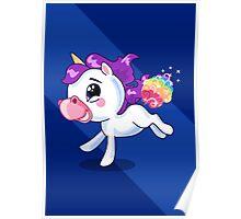 Rainbow Unicorn Farts Poster