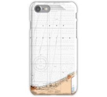 Lake Michigan Map - Chicago Map iPhone Case/Skin