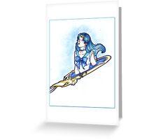 Sailor Neptune Greeting Card