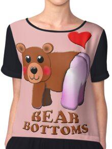 love bear bottoms Chiffon Top