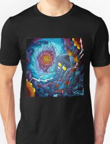 Tardis stained glass style  T-Shirt
