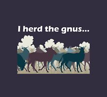 I Herd The Gnus - Light Text Long Sleeve T-Shirt