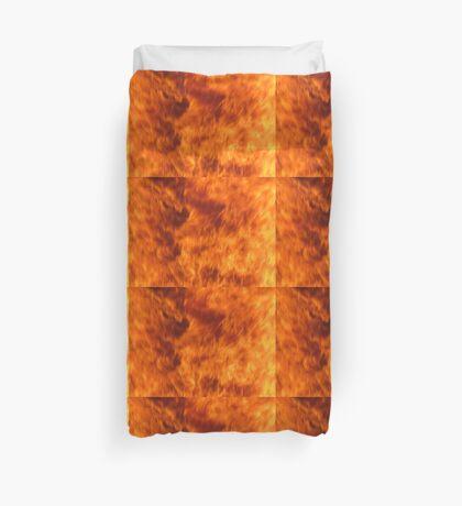 fire pattern 6 Duvet Cover
