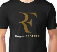 """Roger Federer """" R F """" Unisex T-Shirt"""