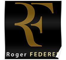 "Roger Federer "" R F "" Poster"