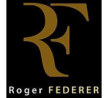 "Roger Federer "" R F "" Photographic Print"