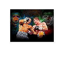 Canelo vs GGG (T-shirt, Phone Case & more) Photographic Print