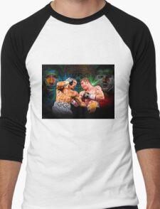 Canelo vs GGG (T-shirt, Phone Case & more) Men's Baseball ¾ T-Shirt