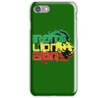 Reggae Rasta Iron, Lion, Zion iPhone Case/Skin