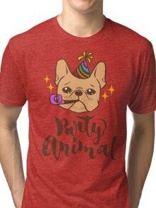 Party Animal Tri-blend T-Shirt