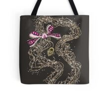 Edwardian Pearls, Bejewelled Ribbon & Padlock Jewellery  Tote Bag