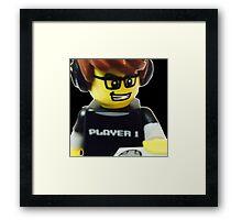 The Gamer Framed Print