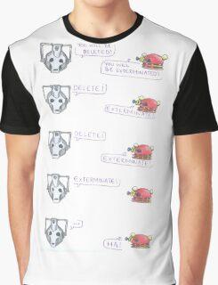 Dalek and Cyberman Graphic T-Shirt