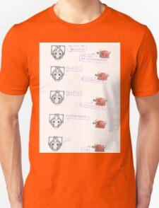 Dalek and Cyberman Unisex T-Shirt