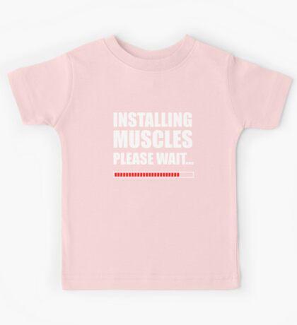 Installing muscles  Kids Tee