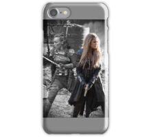 Clarke and lexa (Clexa) iPhone Case/Skin