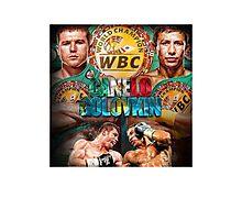 Canelo vs GGG WBC (T-shirt, Phone Case & more) Photographic Print