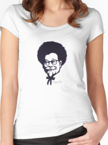 Afro Sanders Women's Fitted Scoop T-Shirt