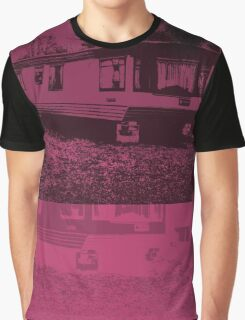 Black Trailer Graphic T-Shirt