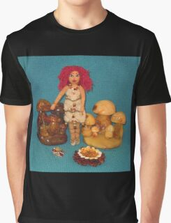 Amber Faerie Doll Graphic T-Shirt