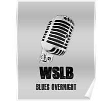 Blues Radio Poster