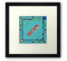 Monopoly Board Framed Print