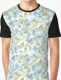 Branch with delicate flowers.  Color 2 Graphic T-Shirt
