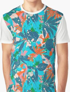 Brazil Hip Hop Pattern by Pepe Psyche Graphic T-Shirt