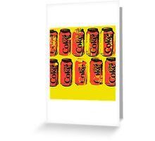 Diet Coke Can II Greeting Card