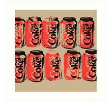 Diet Coke Can III Art Print